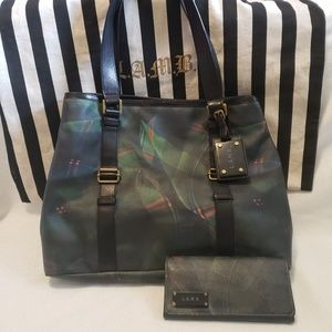 L.A.M.B Purse w/ Matching Wallet & Dustbag